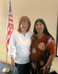 Janet Wilson & Senator Irene Aguilar