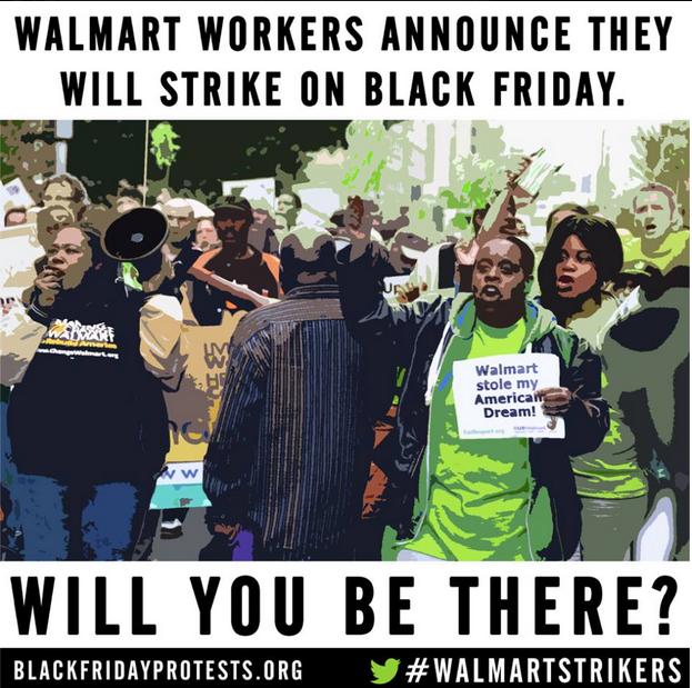Walmart strikers