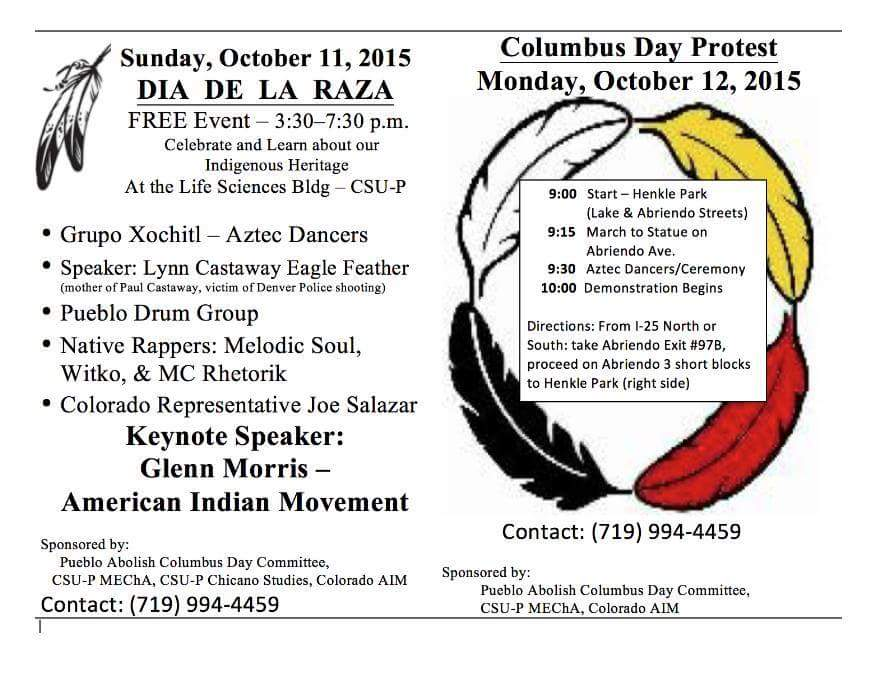 Columbus Day Protest