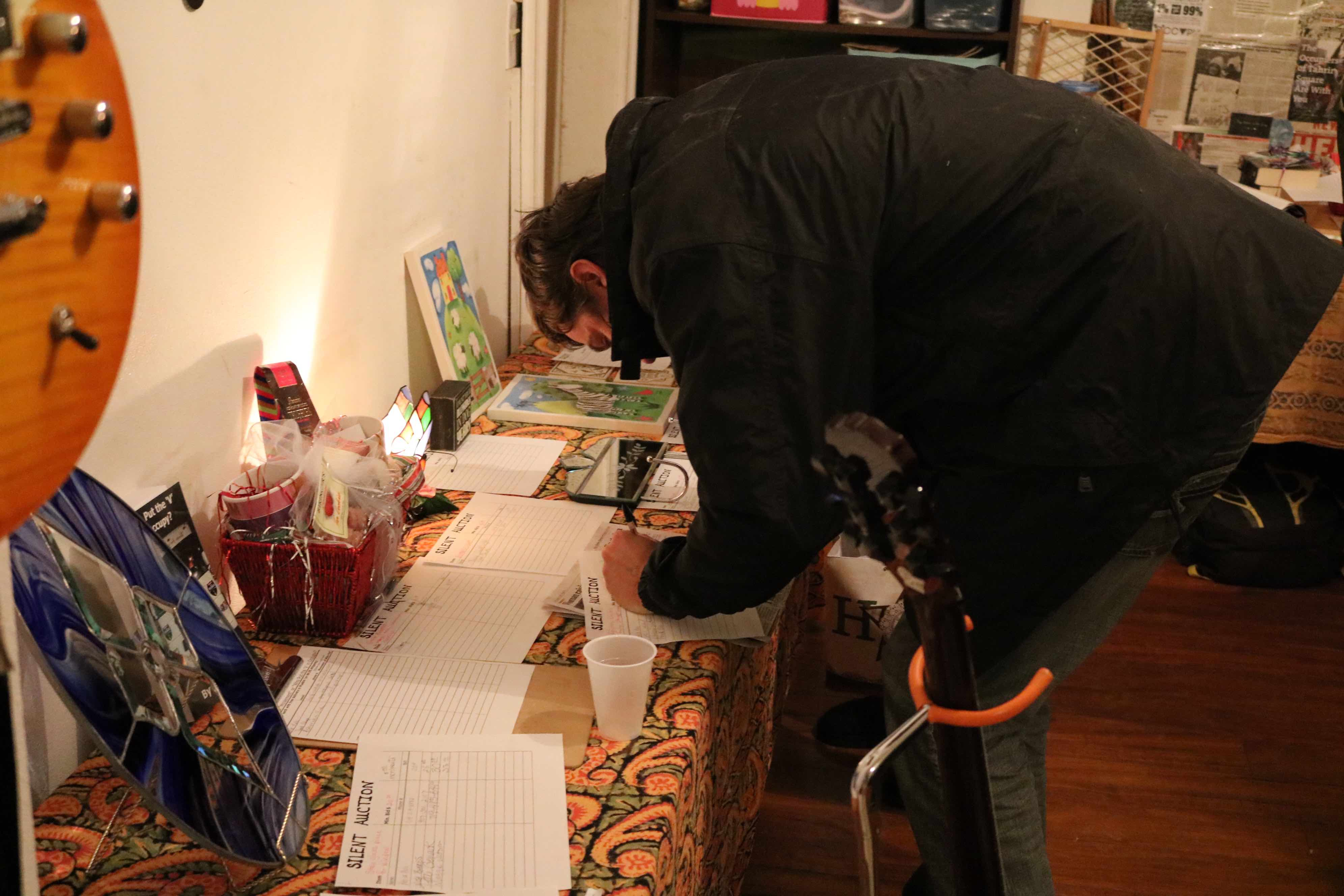 koyc occupy your community radio occupy the roads patrick bidding for silent auction