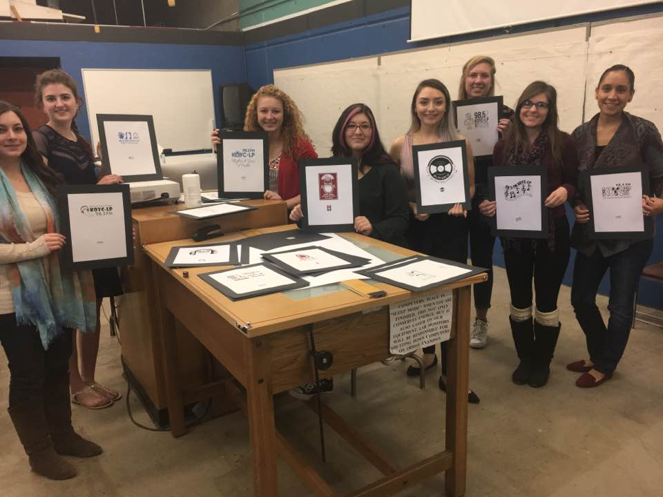 CSU-Pueblo Students bring their ideas for logos